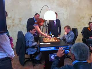 Le coup d'envoi du grand prix d'échecs © Chess & Strategy