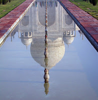 Reflejo del Taj Mahal