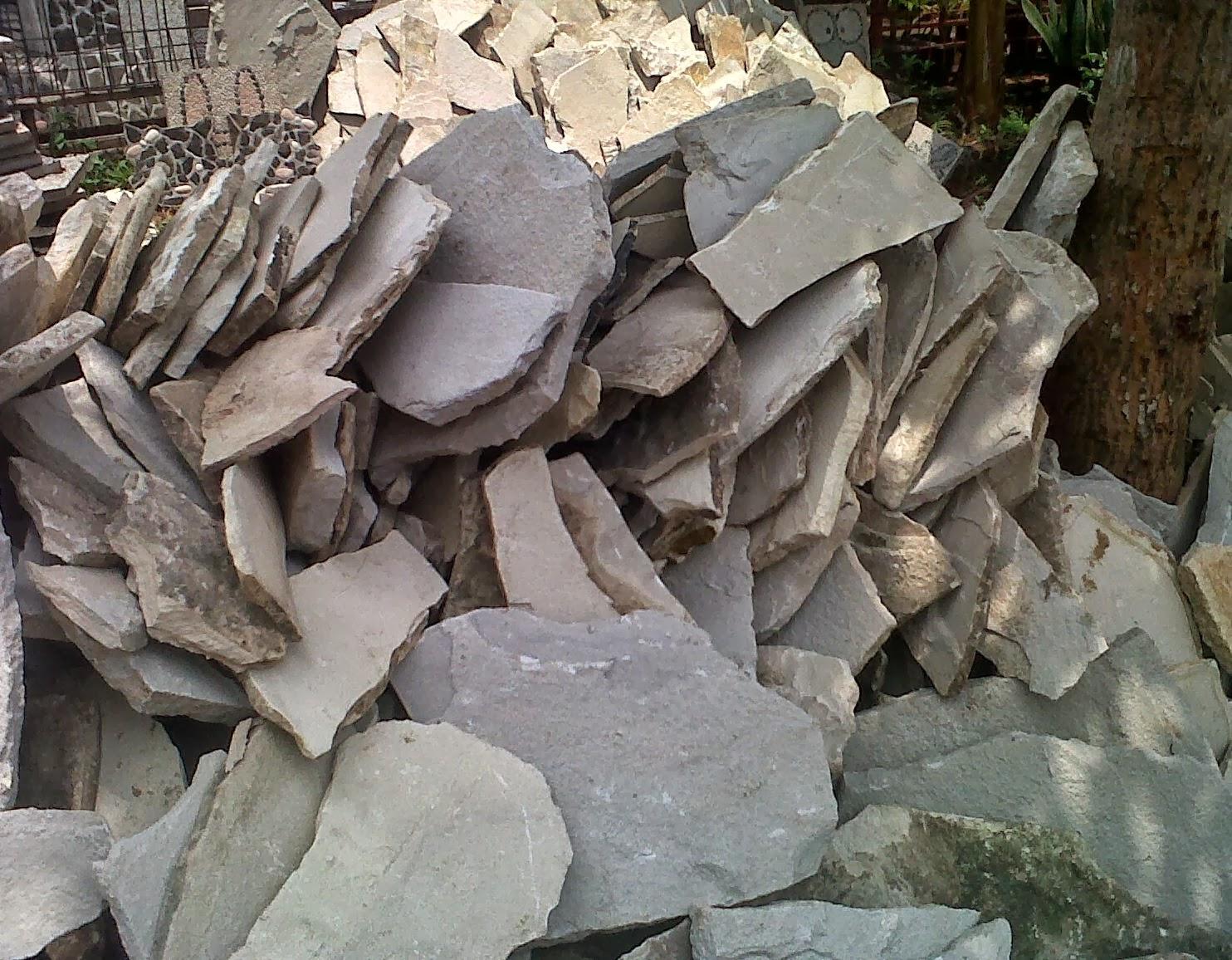 Batu Kebumen Di Jakarta Serpong Bsd Pamulang Jual Alam Templek