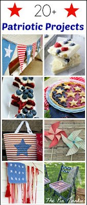 http://www.thepinjunkie.com/2015/06/patriotic-red-white-blue-crafts-and.html