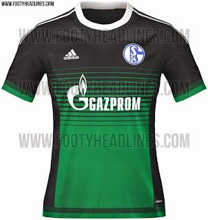 jual online baju bola Jersey Schalke third terbaru musim depan 2015/2016