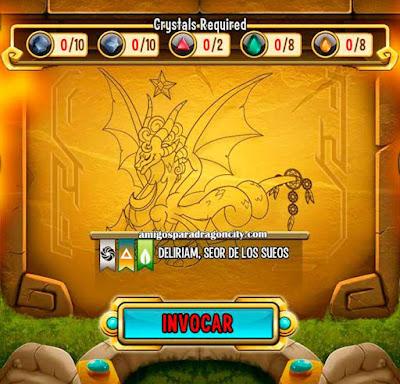 imagen de las caracteristicas del dragon deliriam