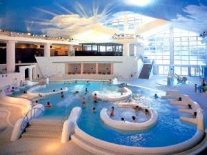 Yunessun spa resort un peculiar oasis japon s de aguas - Oasis bano turco sl ...
