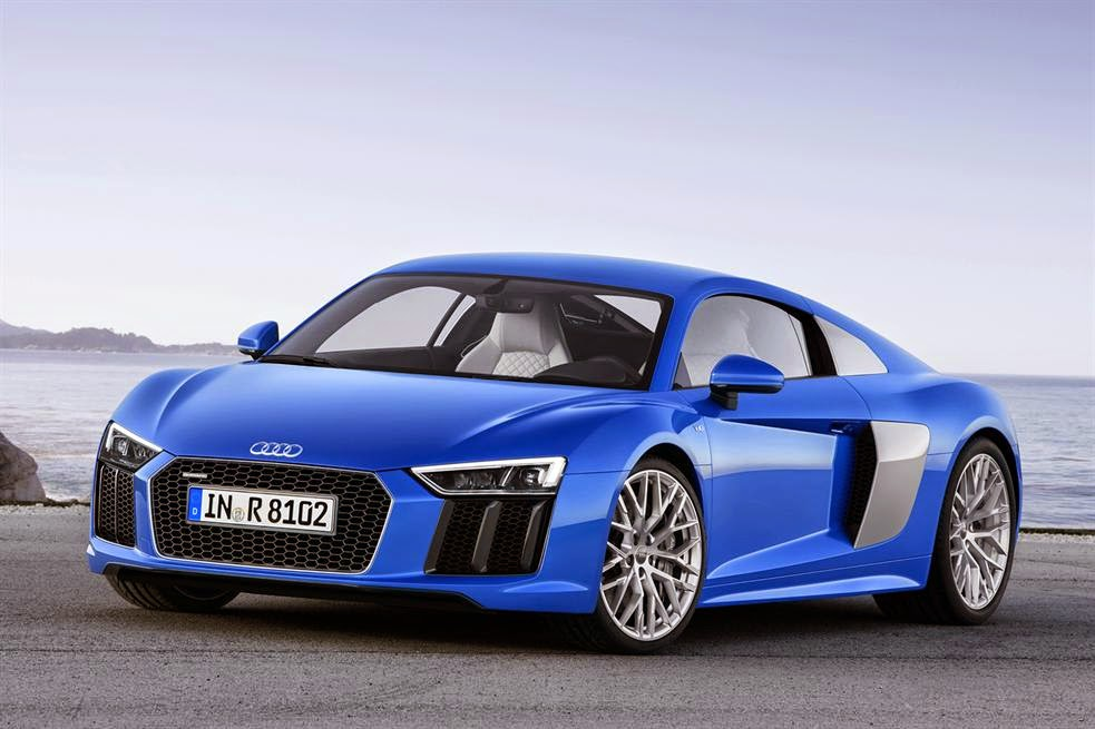 2015 Audi R8 - engines, details and prices