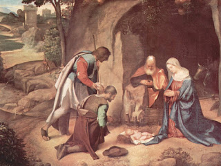 Free Download Giorgione Nativity Wallpaper