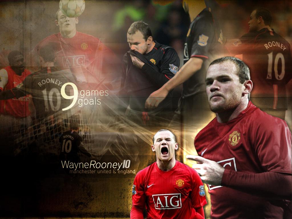 Wayne Rooney 34 Goals
