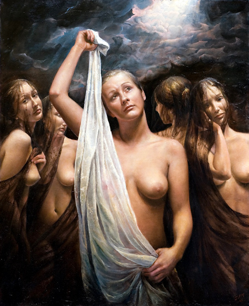 Terje Adler Mørk 1949 | Norwegian Figurative painter
