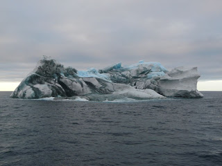Striped Icebergs Travel