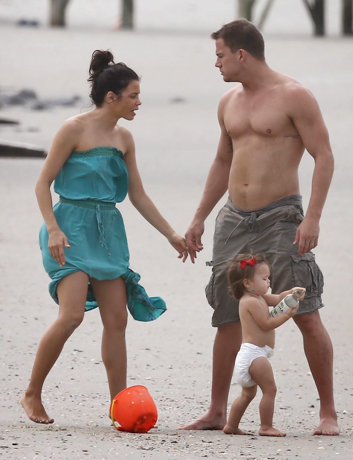 Татум ченнинг и его жена дети фото