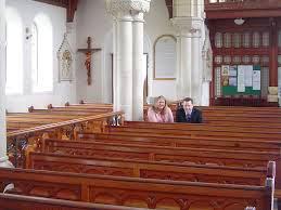 almost-empty church