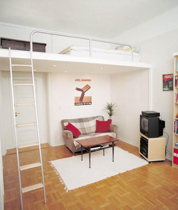 decoracao kitnet jovem:Solução para apartamentos pequenos – dcoracao.com – blog de