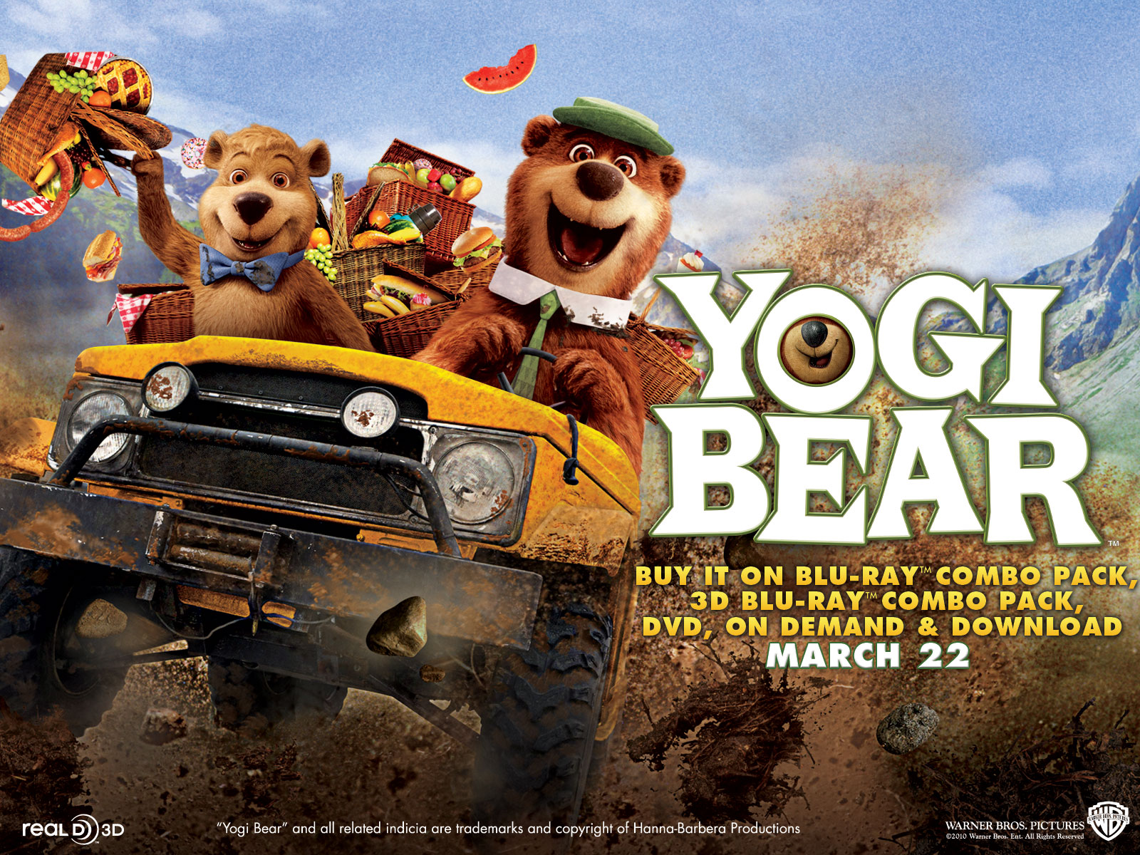Yogi Bear Movie Poster Controversy EZ PC Wallpapers: Yogi...