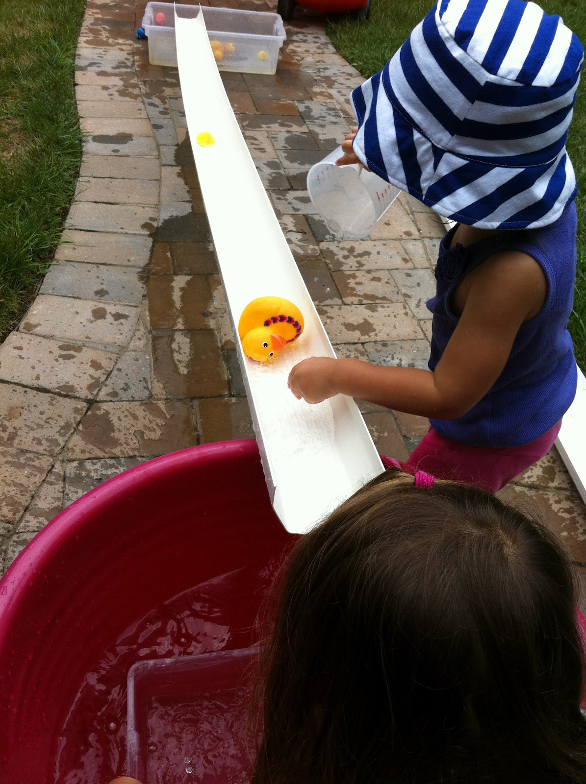 A Childhood List 60 Gutter And Water Play