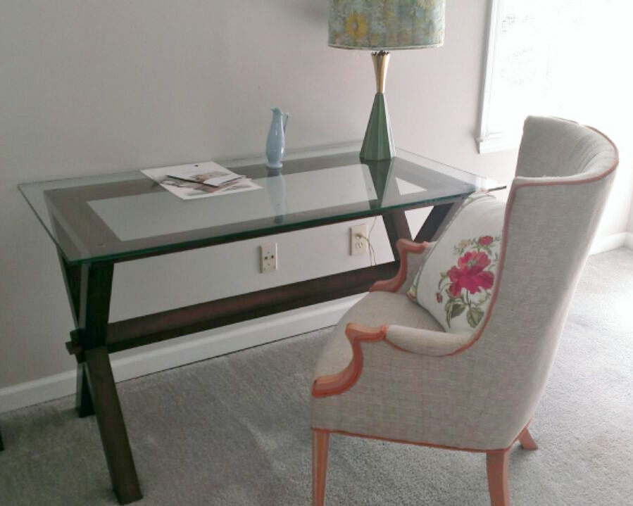 Looks Great With Her Ava Desk From Pottery Barn