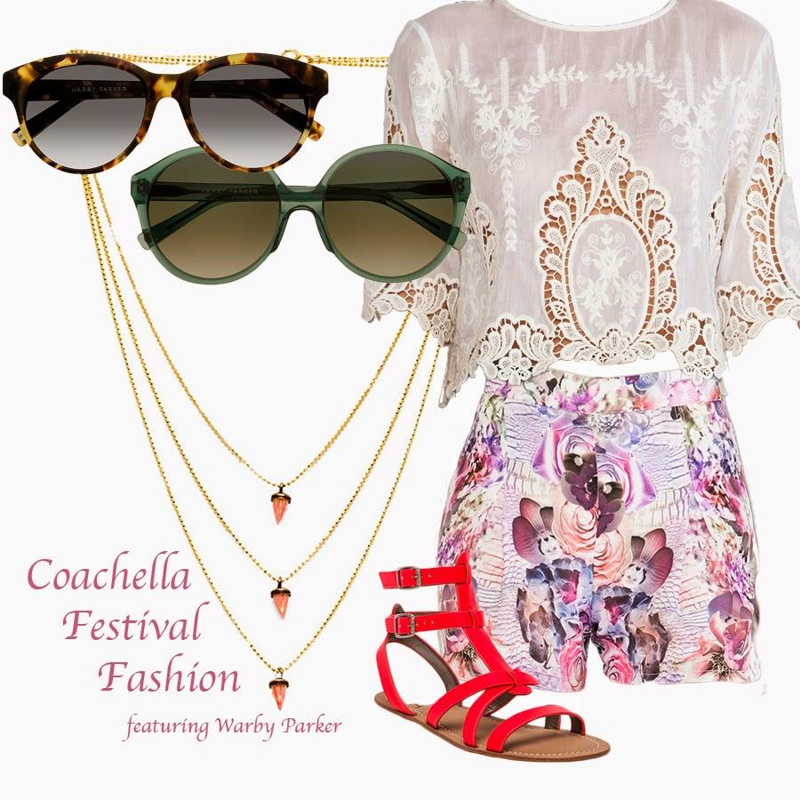 Coachella, Festival Fashion, Warby Parker, Sam Edelman, May., Dolce Vita, Lionette by Noa Sade