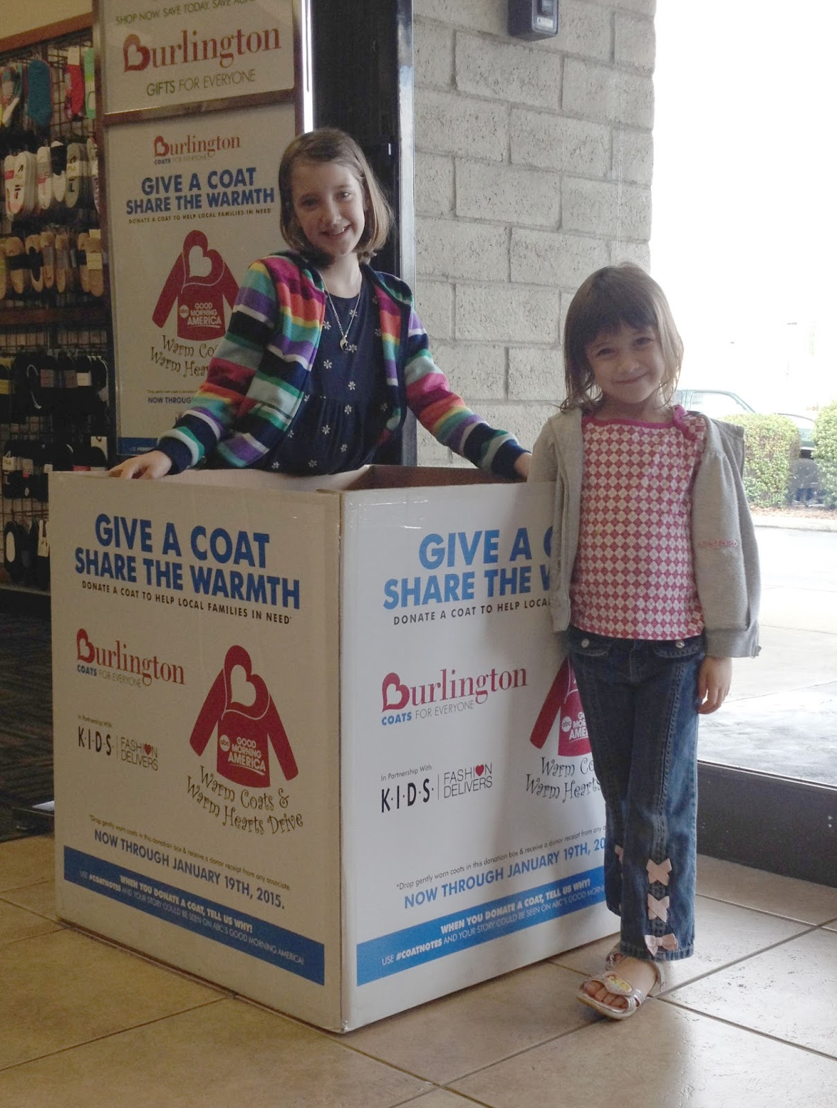 Burlington Coat Drive.. Warm Hearts and Warm Coats