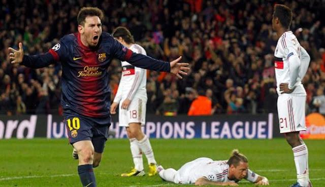 Barca vs Milan : Milan tersingkir Barca melaju ke Perempat Final LC