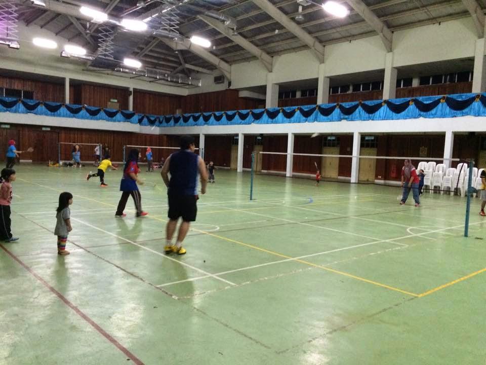 main badminton, kompleks sukan johor land