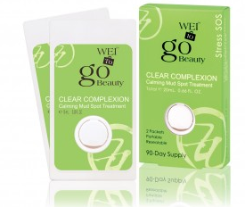 Wei, Wei To Go Clear Complexion Calming Mud Spot Treatment, skin, skincare, skin care, acne treatment, pimple treatment, blemish treatment, pimples, zits
