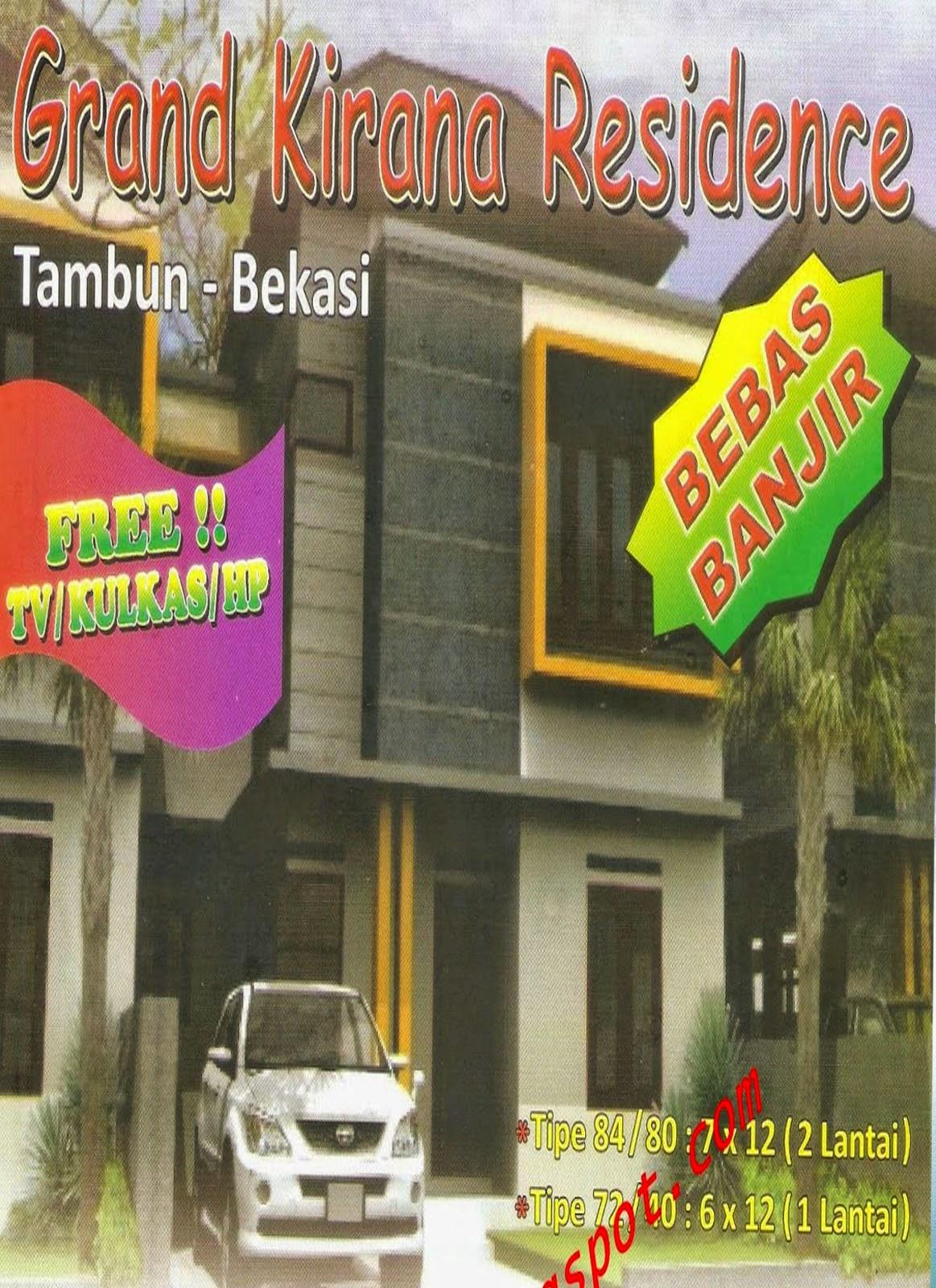 Rumah 2 Lantai Grand Kirana Residence Tambun Selatan Bekasi