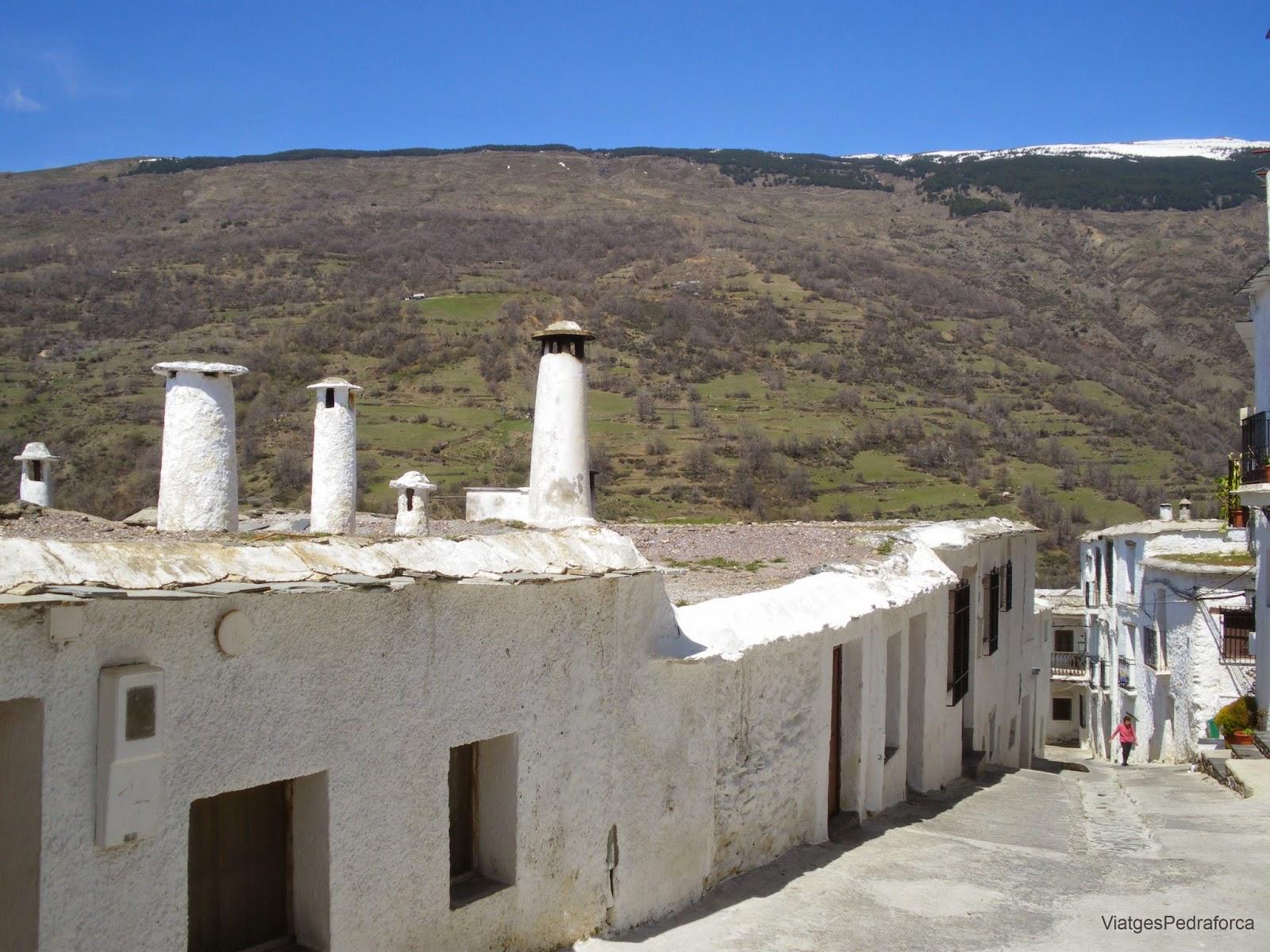 Alpujarra Granadina Terrao Sierra Nevada Barranco del Poqueira Andalucia