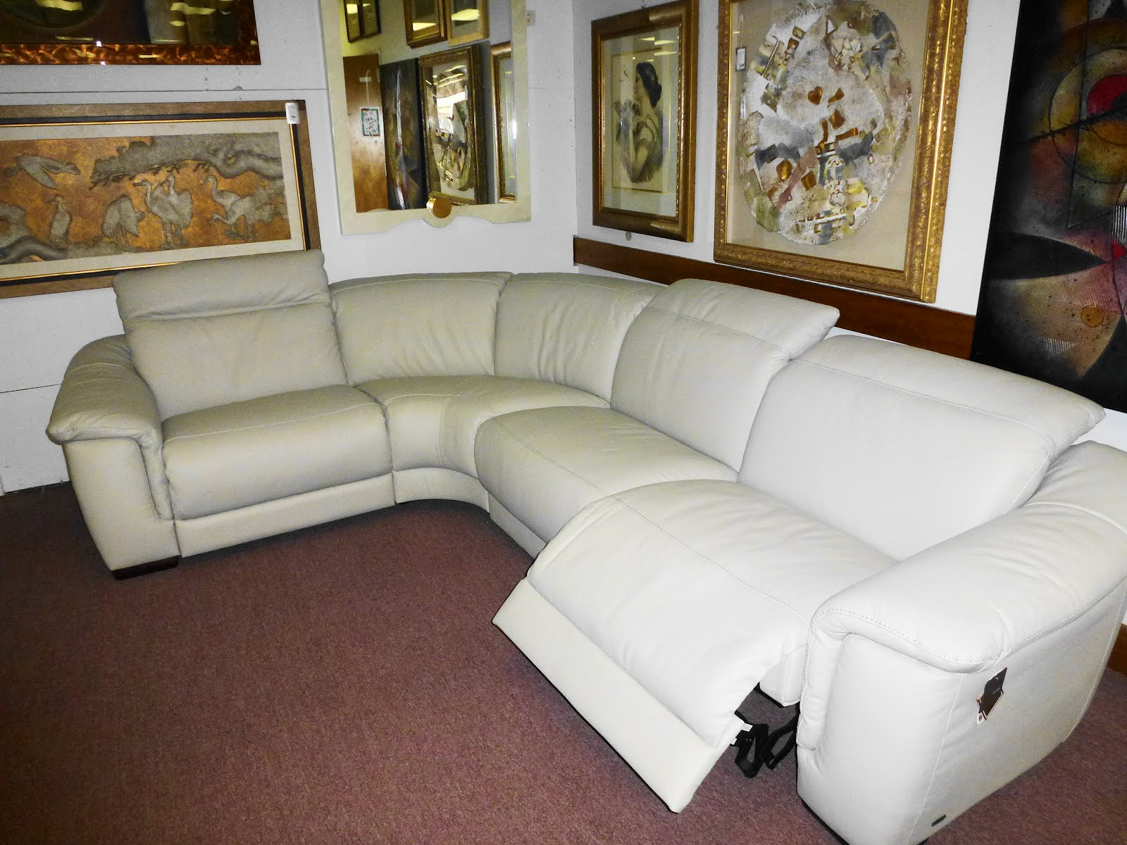 Natuzzi Leather Sofas Sectionals By Interior Concepts Furniture June 2012