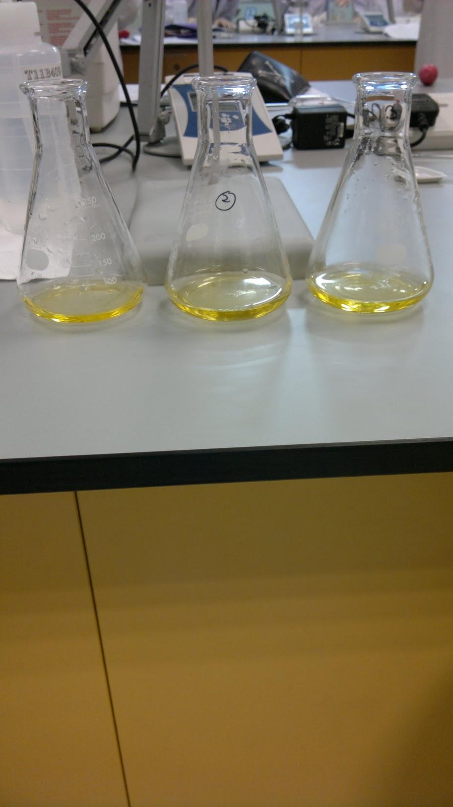 Methyl Orange Indicator Titration Of