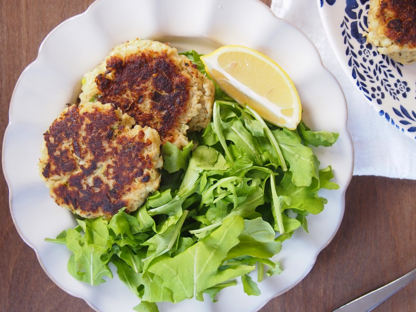 Vegetarian Cauliflower Fritters