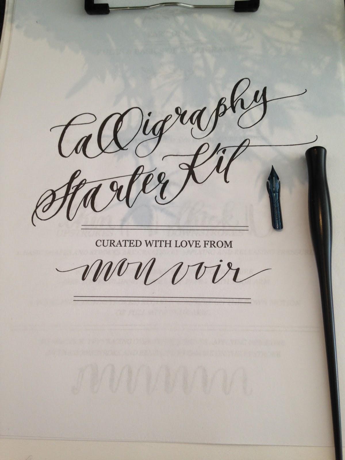 Jossie Posie Modern Calligraphy Class With Jenna Rainey
