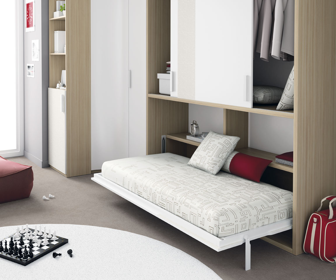 Muebles ros literas de muebles ros frescas atrevidas y for Cama oculta mueble