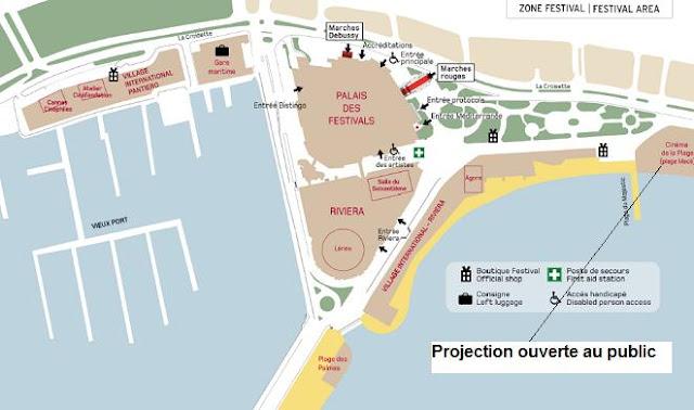 Cinéma gratuit sur la plage: Edition 2012 du Cinéma de la plage du 65ème Festival de Cannes bon plan cinema gratuit festival de cannes 2012