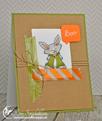 Vampire bunny card by Kim Singdahlsen using Boo Crew