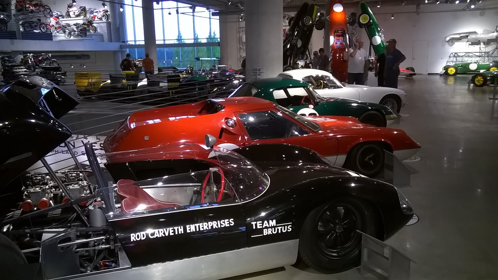 Versys Ventures, and more ...: Barber Lotus Race Cars