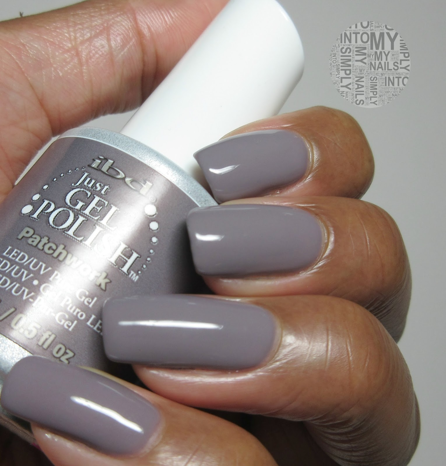 Mini Manicures ~ IBD Just Gel Patchwork