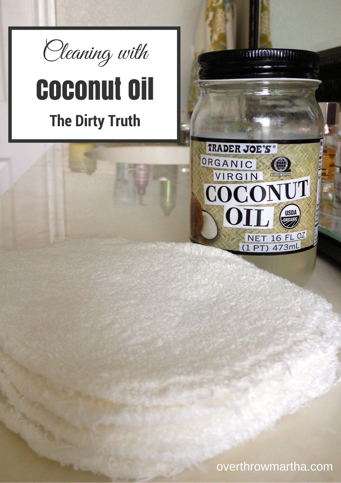 Cleaning with Coconut Oil @DIYBeauty OCM