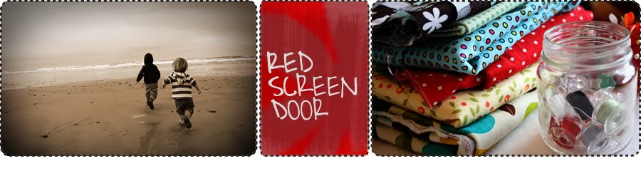 Red Screen Door