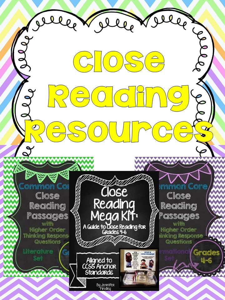 http://www.teacherspayteachers.com/Store/Jennifer-Findley/Category/Close-Reading-Resources