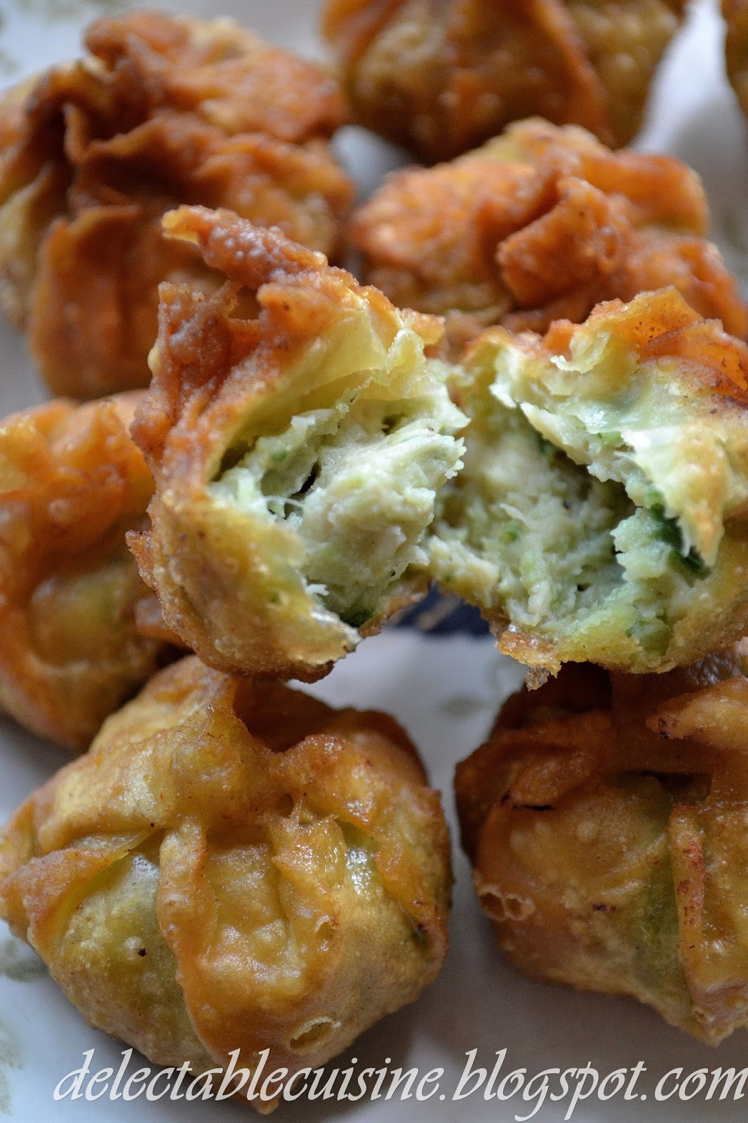 This is a deep fried version of chicken & shrimp wontons which is ...