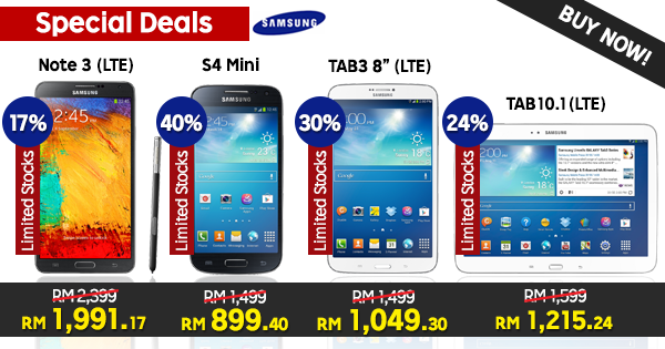Samsung gadgets at super prices
