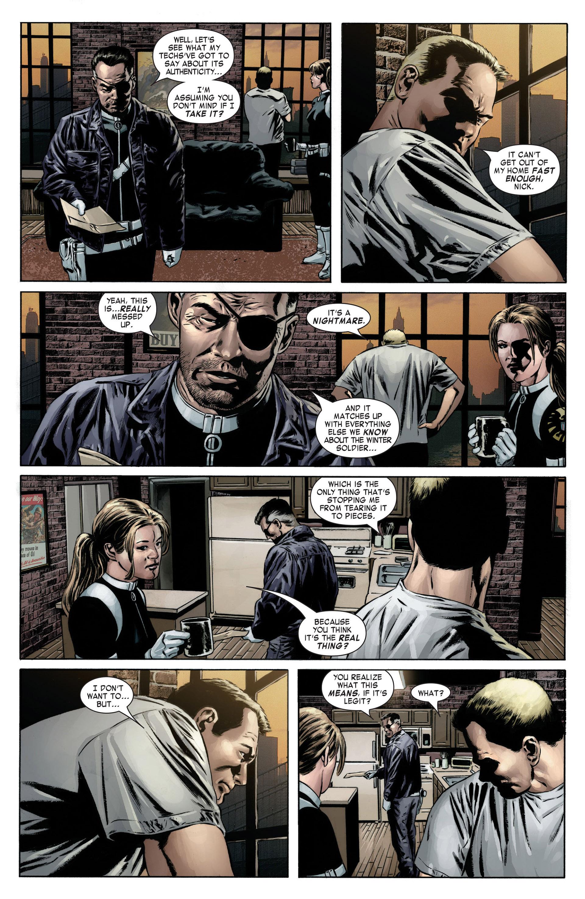 Captain America (2005) Issue #12 #12 - English 5