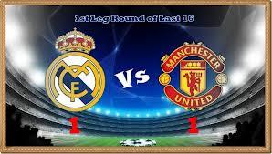 Keputusan Manchester United vs Real Madrid 6 Mac 2013 - Liga Juara-Juara Eropah
