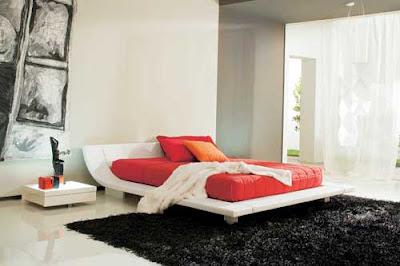 Interior kamar tidur utama