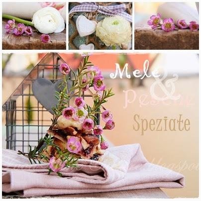 Mele e Pesche Speziate in Pasta Brisee su Glassa Gastronomica di Aceto Balsamico di Modena IGP Ponti