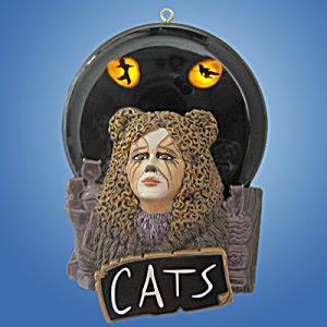 Pop Culture Shop Cats Musical Ornament Memories Light Up