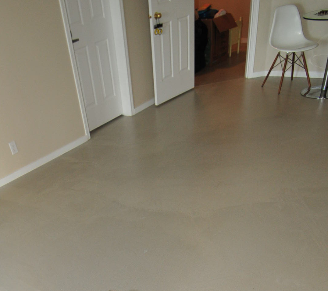 Mode concrete modern trends in concrete flooring for Basement floor treatments