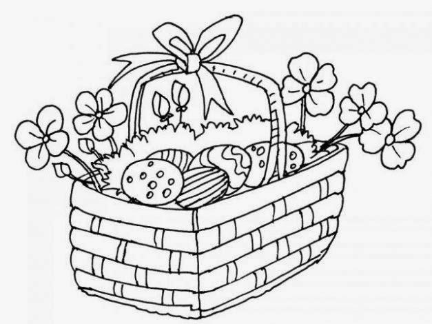 Dibujos de Pascua para Colorear, parte 4
