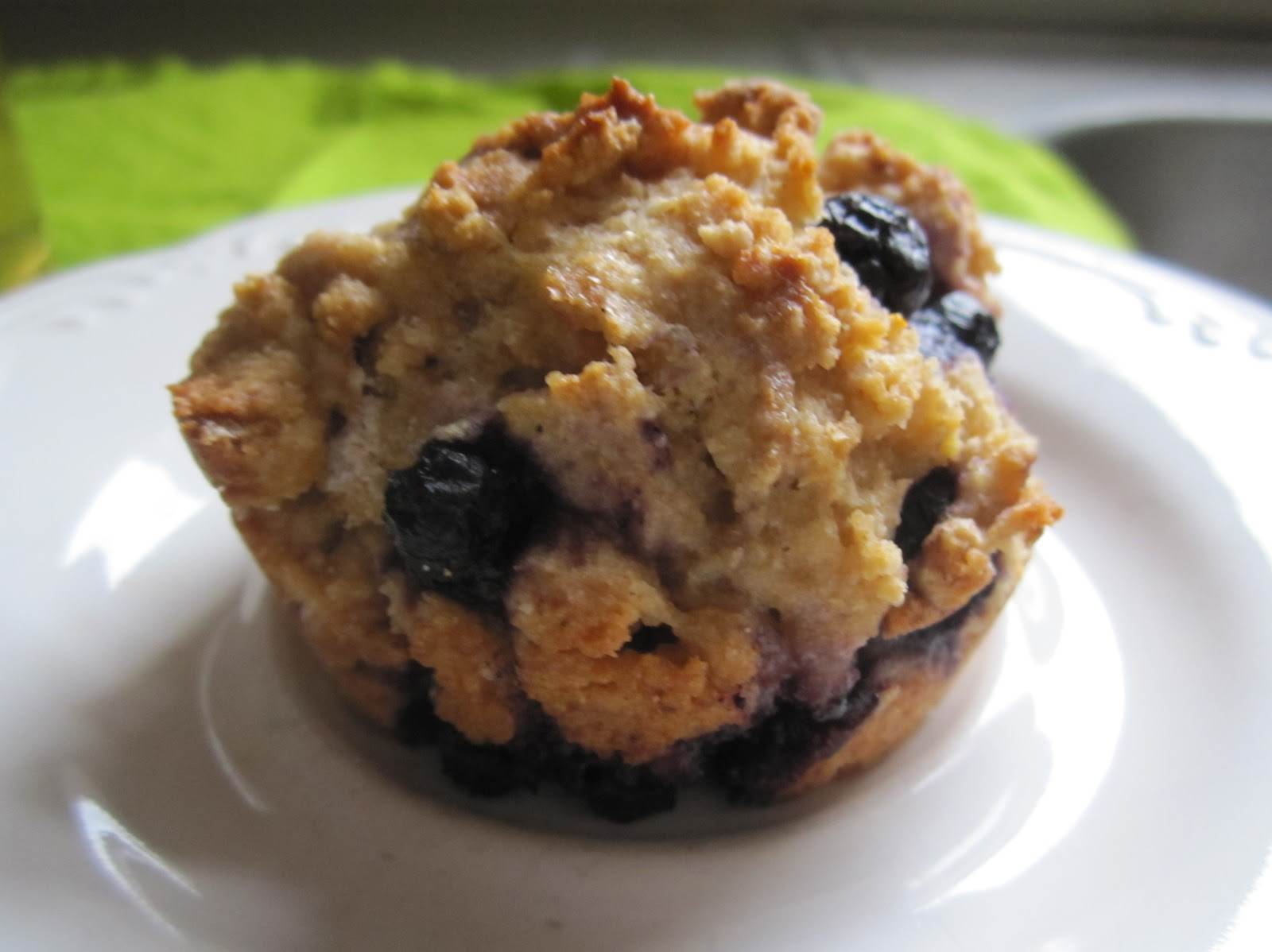 Nearly Natural Nicole: Healthy Blueberry Muffins