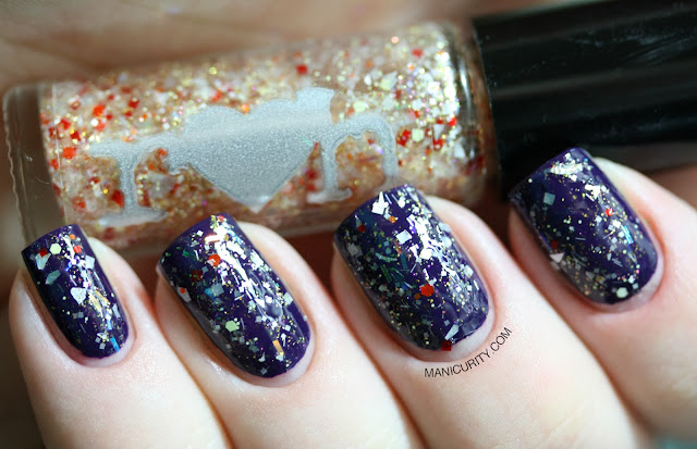 Manicurity | Rainbow Honey The Final Battle Fall 2013 Collection: Swatches & Review of Phoenix Down, Tidal Wave, and Sapphire Weapon