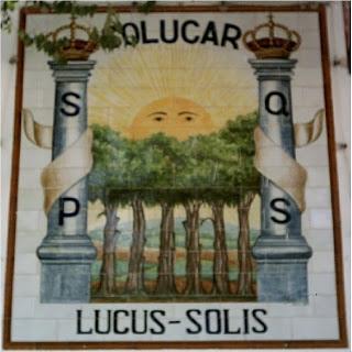 Lucus Solis,ciudad Romana de Sanlúcar la Mayor