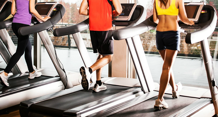Hit the gym first thing in the morning to maximize calories burned and energy rejuvinated!